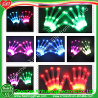 Attractive Gift Item Light Up Gloves Manufacturer Factory