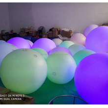 PVC decration inflatable led light balloon / helium sky balloon/large helium balloons for advertising