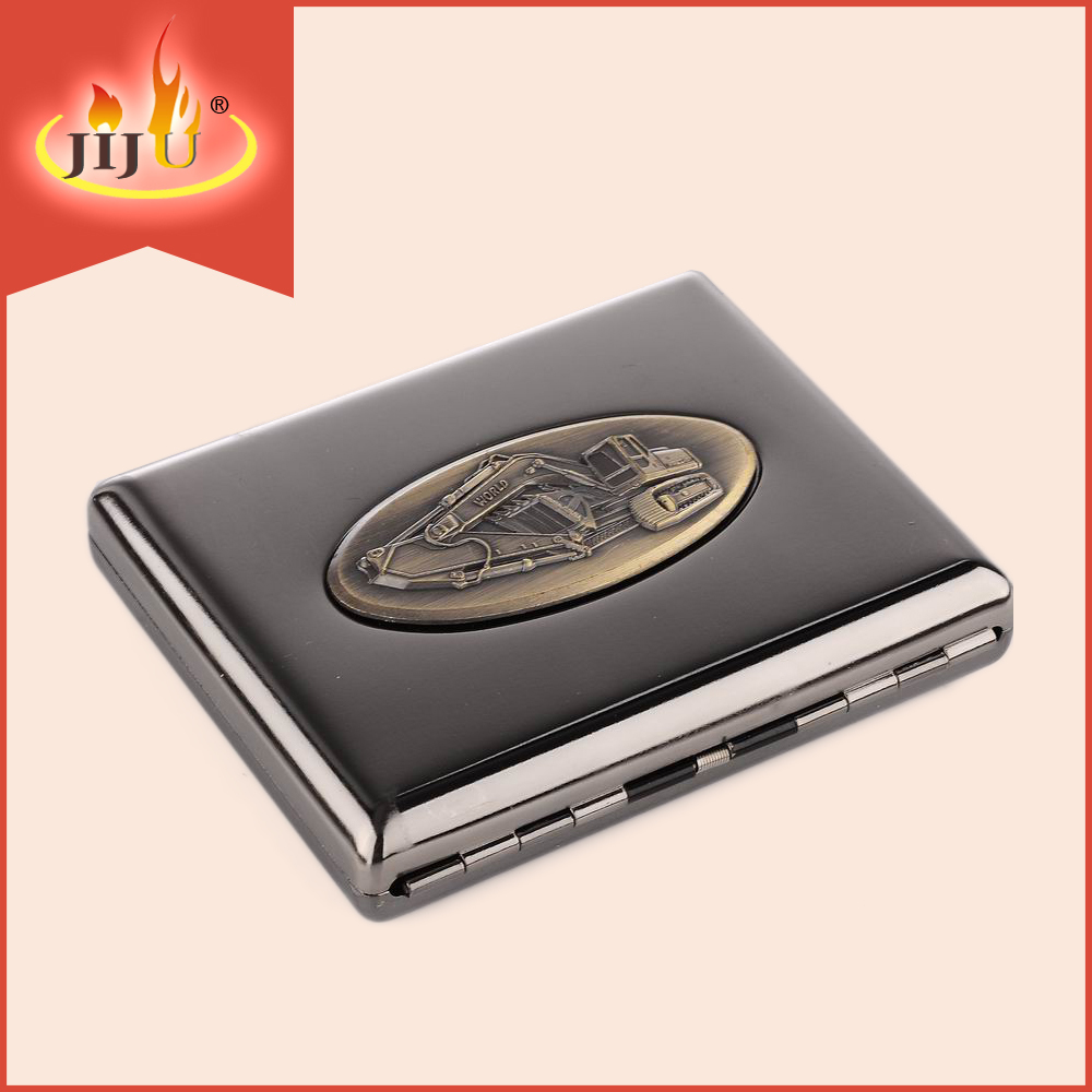 wholesales 18pcs metal cigarette case with printing