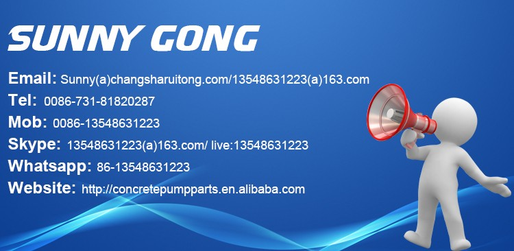 seals for cartridge valve CVI-32 of concrete pump truck