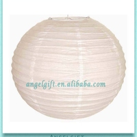 Wedding Decoration White Chinese Round Ball