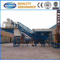 China industrial and mechanical YHZS60 mobile concrete batching plant manufacturers