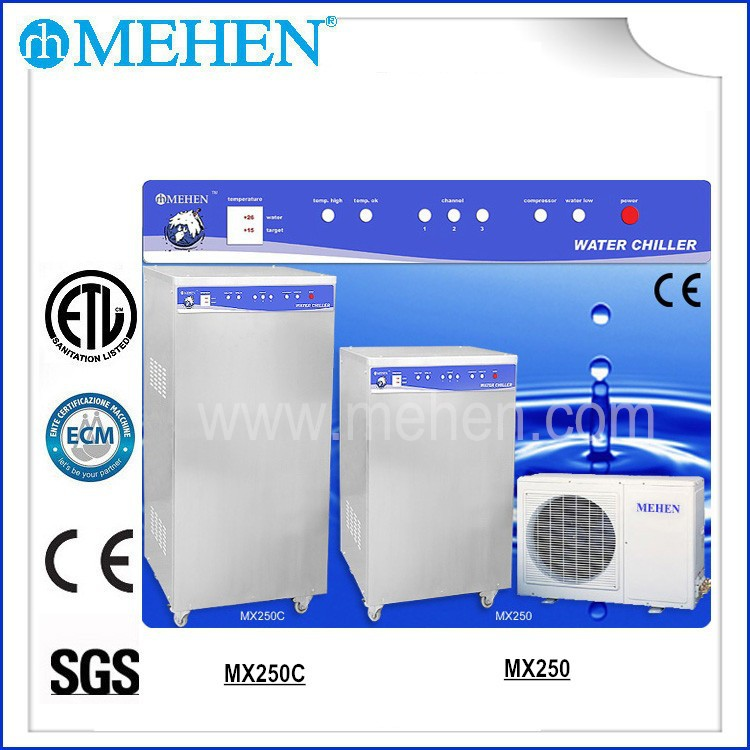 new product Recycling Water Chiller for ice cream machine