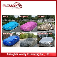 Competitive price top grade black and white taxi car covers