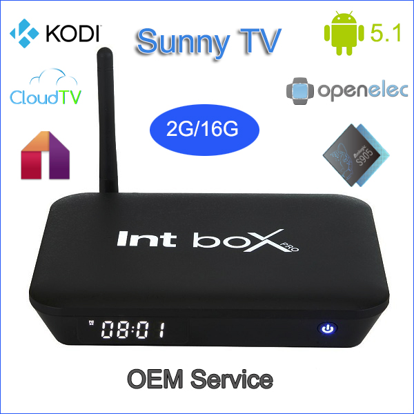 Hot Selling SUNNYTV G7 Android TV box 16G ROM Quad Core S905 2GB RAM 5.1 Android Lollipop WIFI AP6335 Smart TV Box