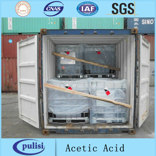 PLS industrial grade glacial acetic acid 99.8% for sale