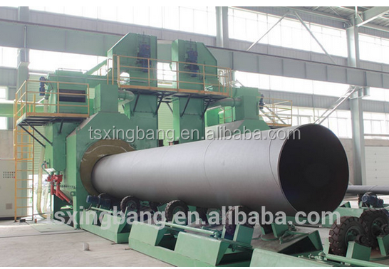OD 720 mm superior stainless SSAW STEEL PIPES from XINGBANG company
