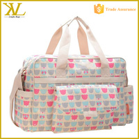 Fashion Custom Diaper Bags Satchel Outdoor Travel Yummy Baby Carry Cot Bag