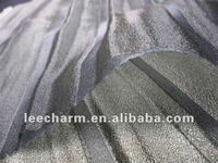 Luxury Pleated Matellic Tulle Fabric for Wedding Decoration