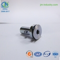 black anode cutting carbon fiber aluminum cnc machining parts