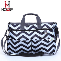 2016 Promotional wholesale multi-function messenger diaper bags baby changing bag for sale
