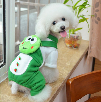 S64855B Cartoon Pet Dog Clothes For Dogs Costume Hoodies Winter pet Coat