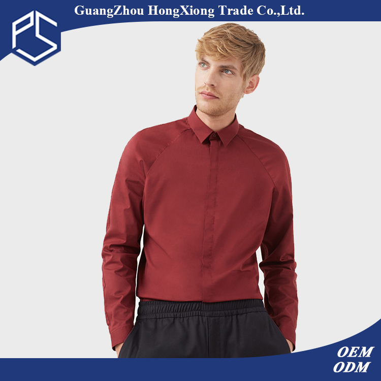 Factory OEM Hot Style Long Sleeve Cotton Customize Men Fashion Pictures Of Formal Shirts Men