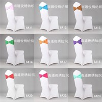 spandex lycra chair sash with plastic buckle