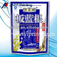 Laminated air tight food packaging plastic bags for herbal powder