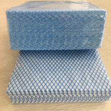 All purpose disposable clean cloths blue