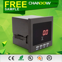 Factory Price DC 24V voltmeter digital 12v-24v 96*96mm