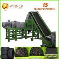 CE Waste Plastic Crusher Tire Machine To Recycle Plastics Bottle Germany
