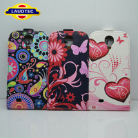 OEM Print Flower Leather Slim Cover Back Case for Samsung Galaxy S4 I9500