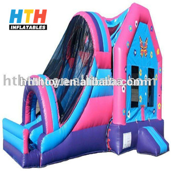 2017 Low price high quality hello kitty inflatable bouncer