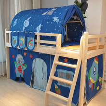 KIDS BED TUNNEL TENT WHOLESALE BLUE SKY DREAM HOUSE FOR KIDS INDOOR PLAY