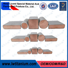 Outstanding Quality Titanium Clad Copper Plate/Bar for Sale