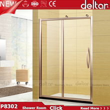 2016 Hot Sale shower room cabin with small tempered glass bathroom door
