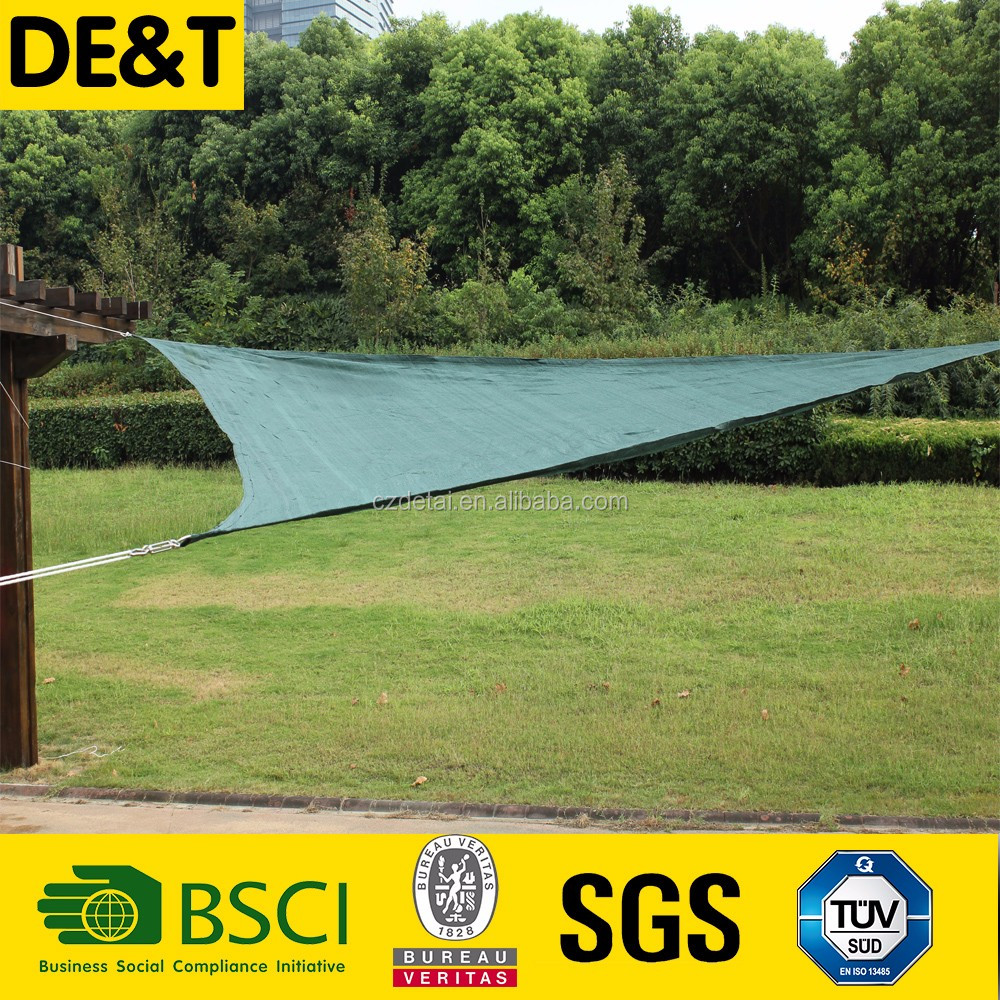 waterproof shade sail, wind or dust nets shade netting, nylon multifilament fishing net