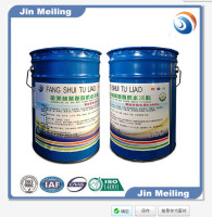 two component polyurethane waterproof painting for construction/water based polyurethane waterproof coating