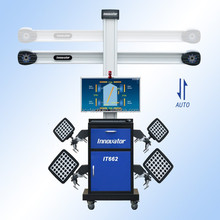 Advanced laser alignment systems IT662 with auto tracking camera