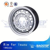 BAOSTEP Highest Level Manufacturer 6X139.7 Car Steel Wheels