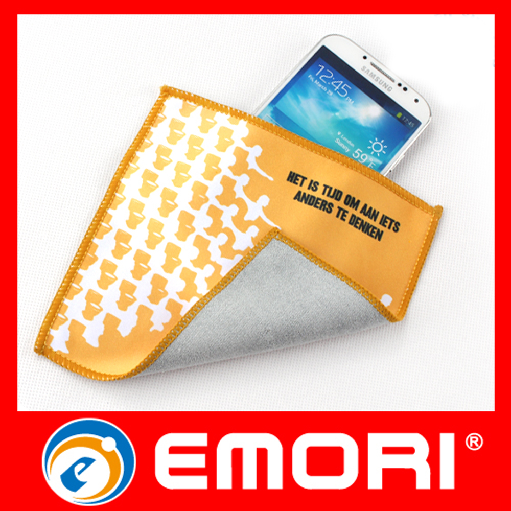 Dual-sided Portable Smart Microfiber Cleaning Cloth with Pocket