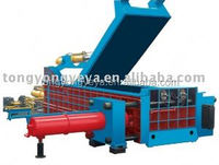 Y83 Series hydraulic vertical small baler machine for waste paper ,plastic,film, factory direct sell