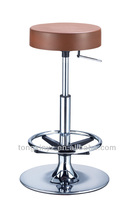 4 new modern bar stool,pu integral skin foam seat pad