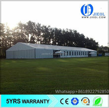 Low cost quality blue and white party tent