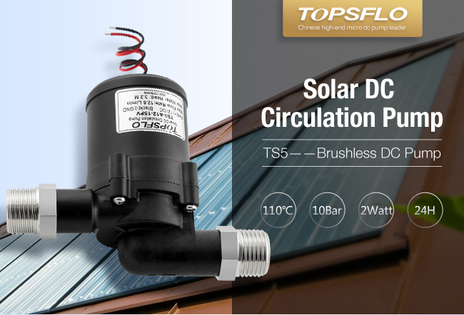 TOP quality DC brushless motor solar water pump system