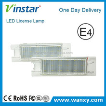 Vinstar high quality Opel Zafira LED License Lamp used cars auction in japan
