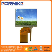 RoHS compliant 3.5 inch 320x240 tft lcd panel with resistive touch panel