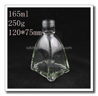 Elegant Empty Glass Room Fragrance Reed Diffuser Bottle/Air Freshener Glass