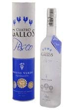 Cuatro Gallos Pisco Quebranta brandy