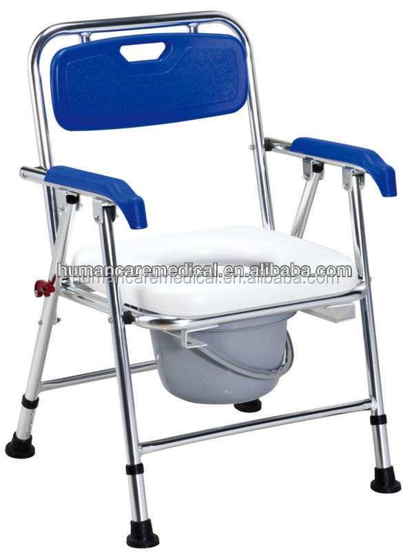 Manufacturer of reclining shower commode chair
