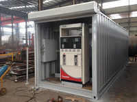 ISO certification gas stations containers/mobile gasoline station for sale/mobile fuel station with low price