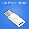 20pcs Type C For iaomi Macbook Oneplus 2 Nokia N1 USB Type C Adapter to Micro USB 5pin Female Microusb Data Charger Connector