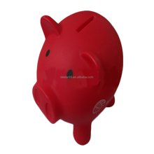 cute custom piggy plastic coin bank for sale
