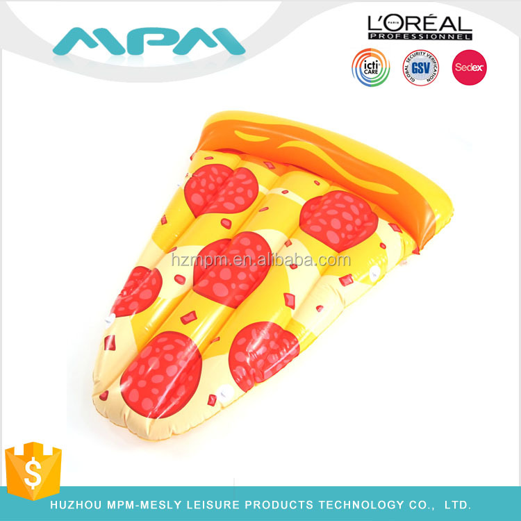 High Quality 2017 New Arrival Inflatable Float Pizza