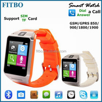 3D Pedometer MTK6260 custom smart watch phone for iPhone 4S/5/5S/6 Samsung Smartphone