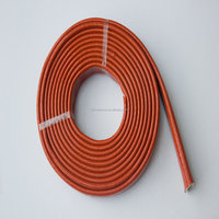 Industry Silicone coated Fiberglass Fire Sleeve