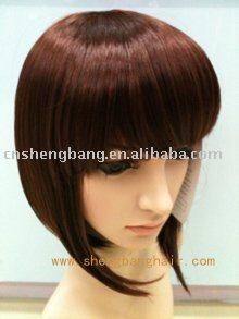 Ladies' wig 33# color wigs synthetic ,flame retardant quality lady gaga wig