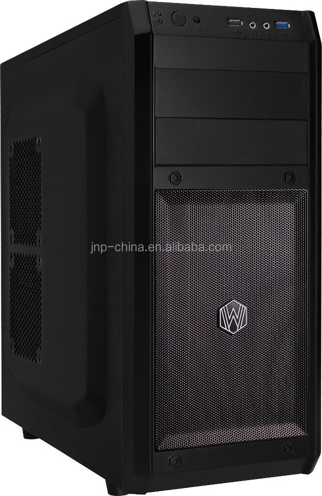 For multifunctional atx tower black with great price