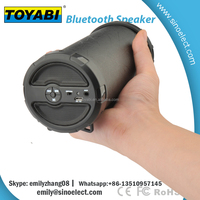 Latest Wireless cylinder Shape mini bluetooth speaker
